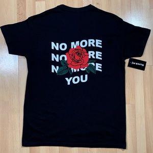 blvck.pl No More You Rose T-Shirt